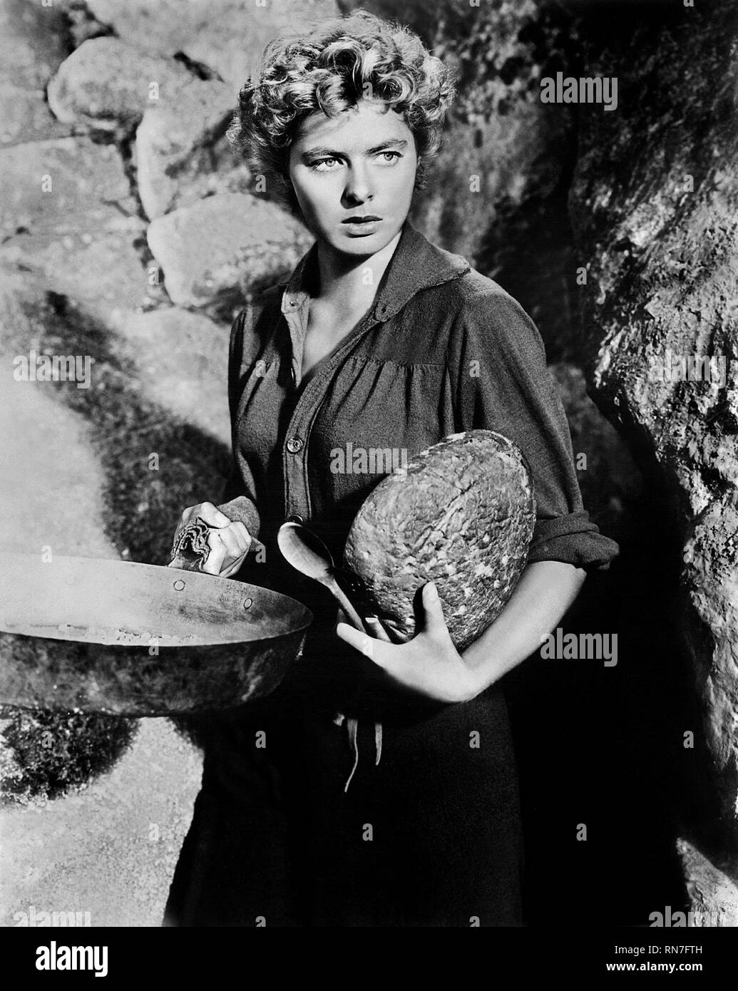 INGRID BERGMAN, FOR WHOM THE BELL TOLLS, 1943 - Stock Image