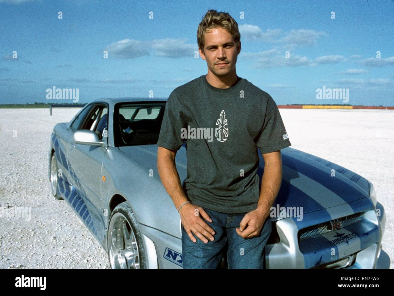 2 FAST 2 FURIOUS, PAUL WALKER, 2003 - Stock Image