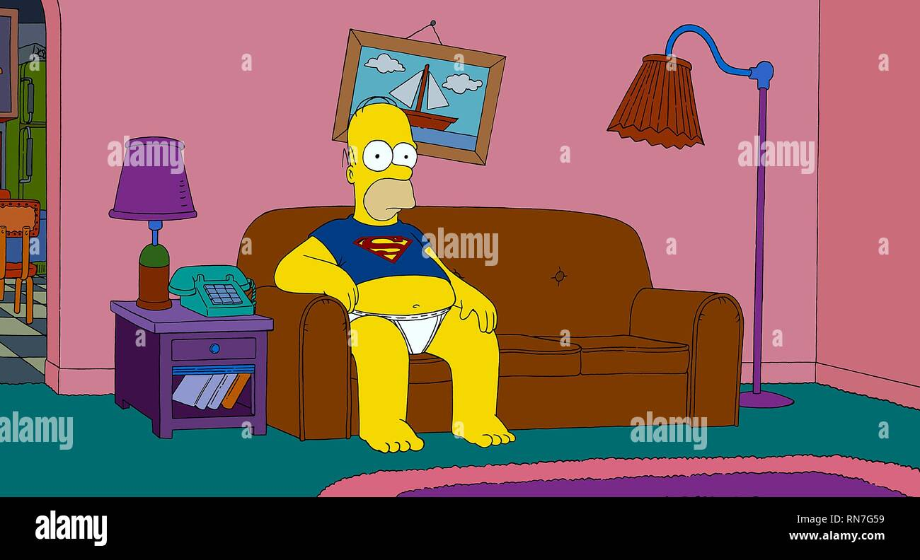 The Simpsons Movie High Resolution Stock Photography And Images Alamy