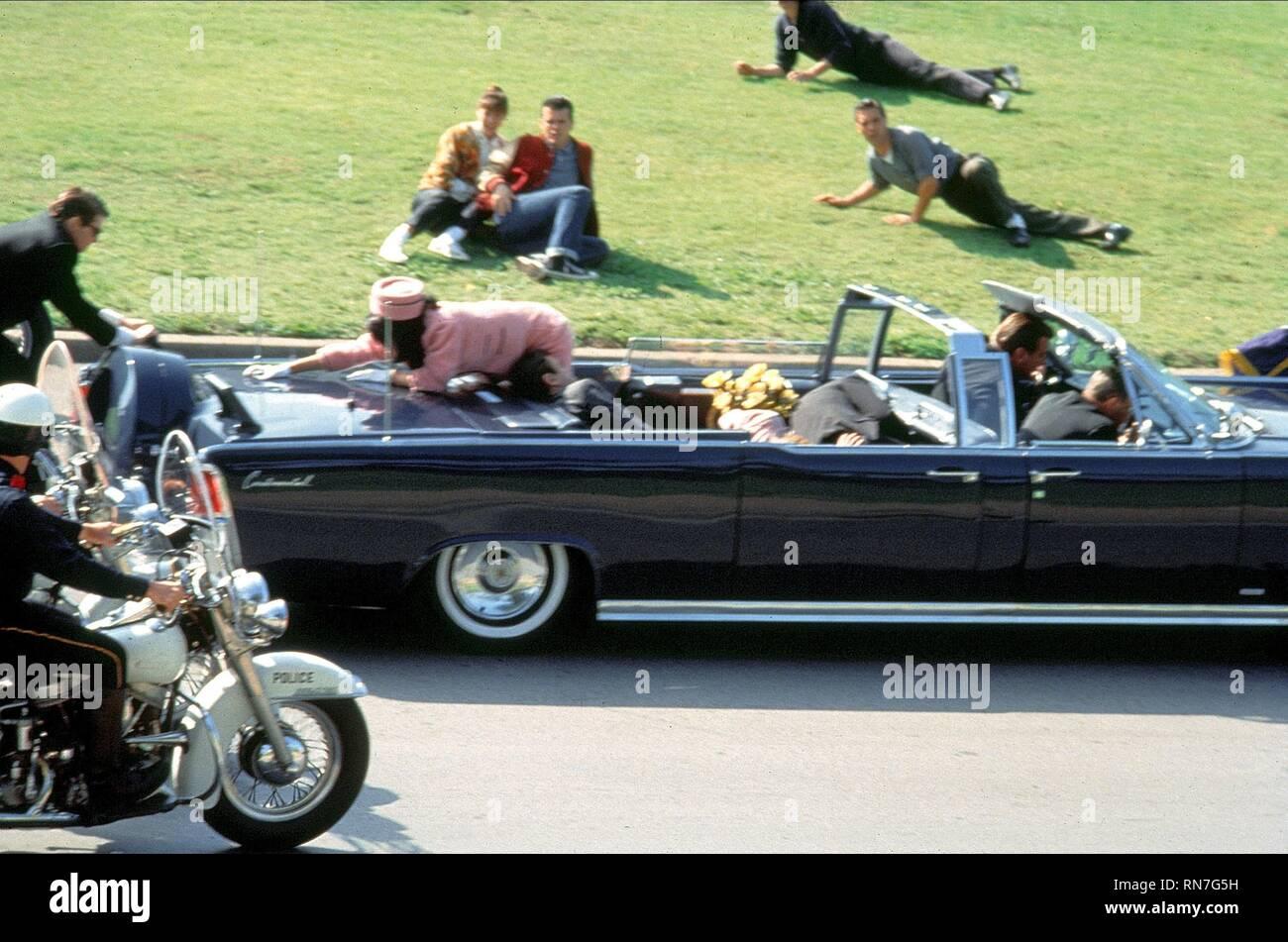 JFK, ASSASSINATION SCENE, 1991 - Stock Image