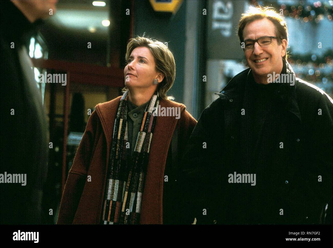 THOMPSON,RICKMAN, LOVE ACTUALLY, 2003 - Stock Image