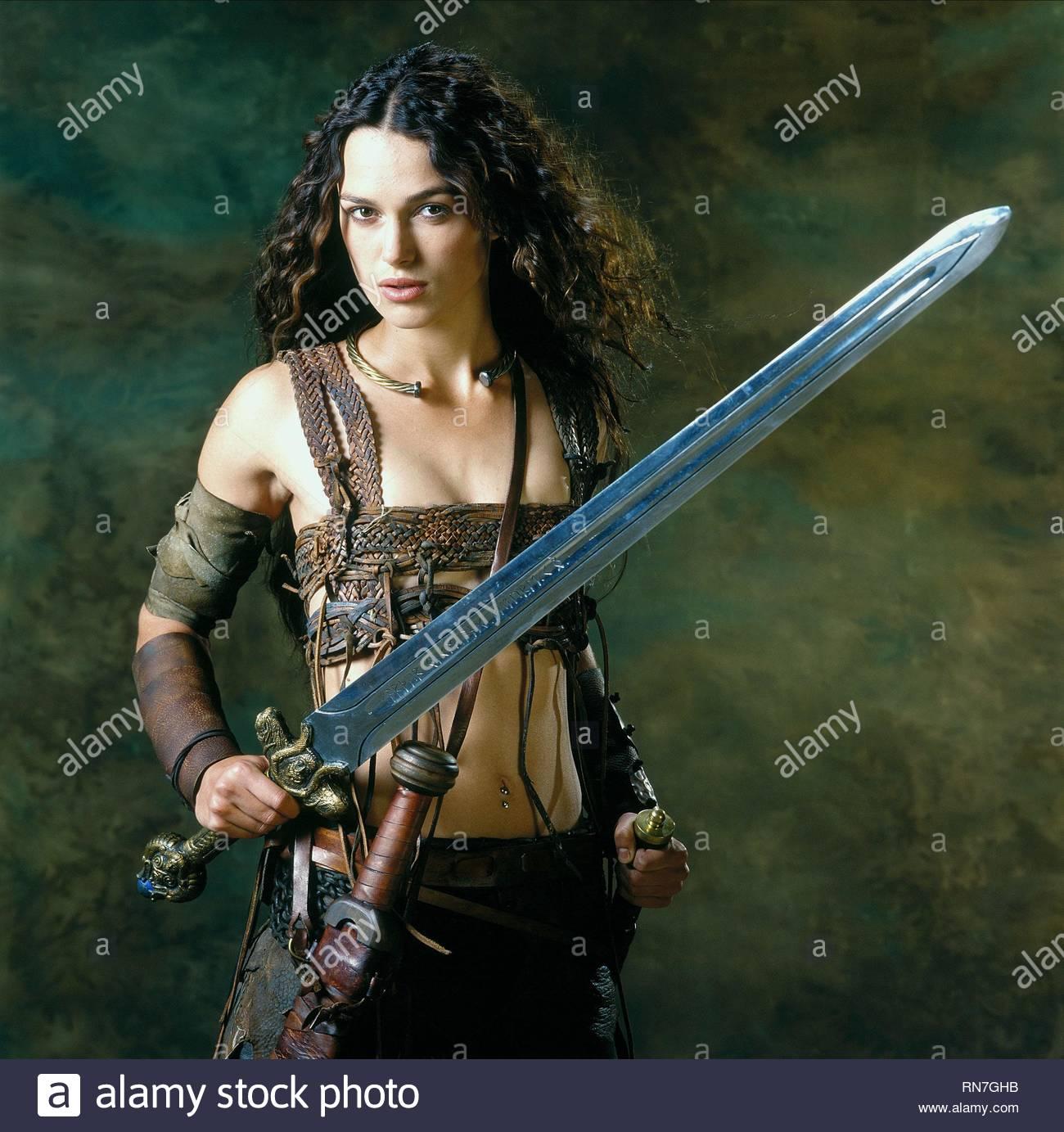 Keira Knightley King Arthur 2004 Stock Photo Alamy