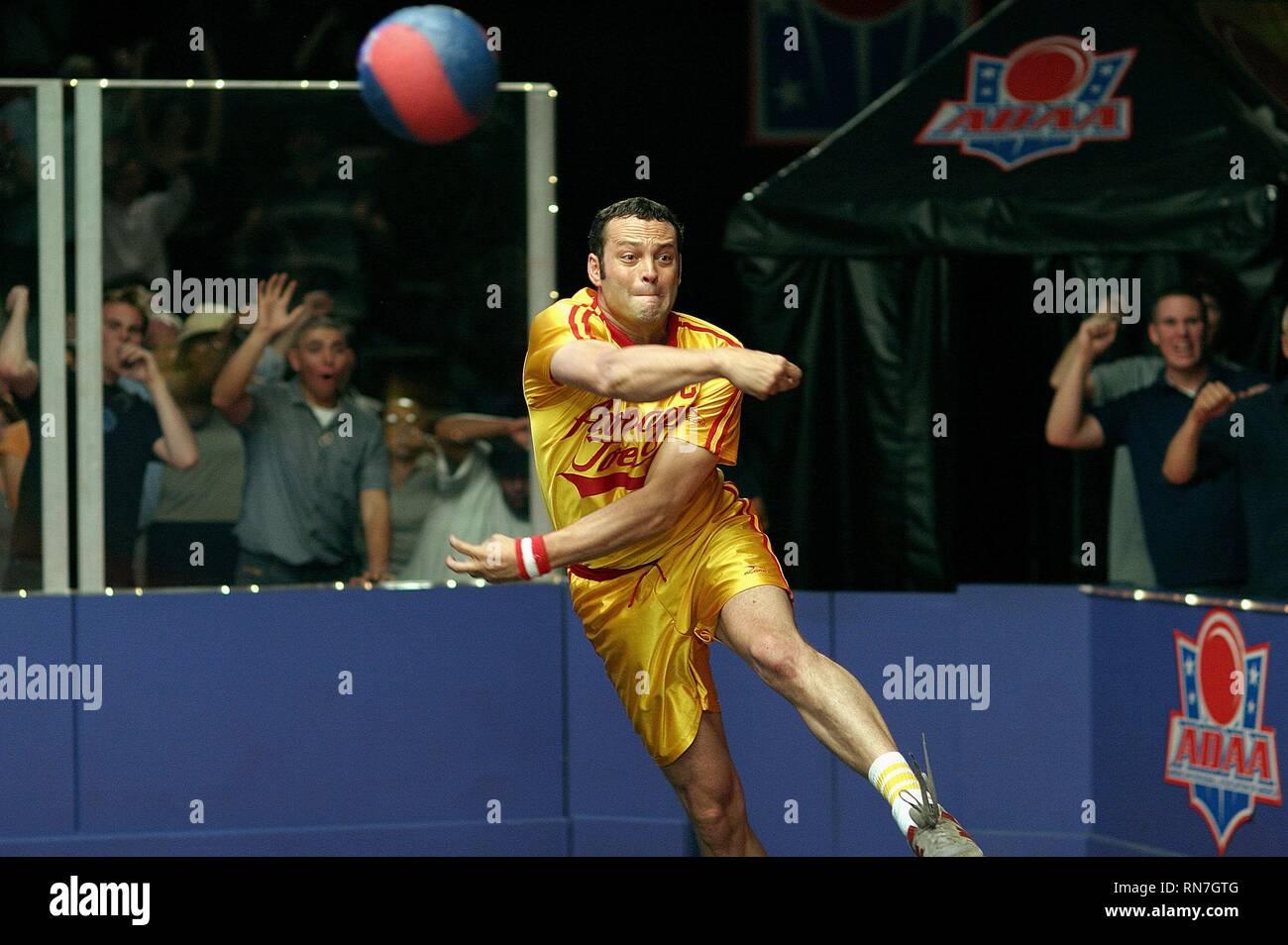 Vince Vaughn Dodgeball A True Underdog Story 2004 Stock Photo Alamy