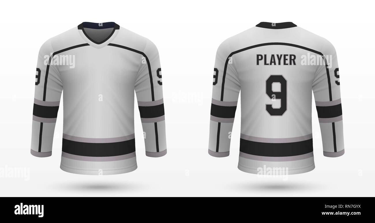 ceba4498452000 Realistic sport shirt Los Angeles Kings