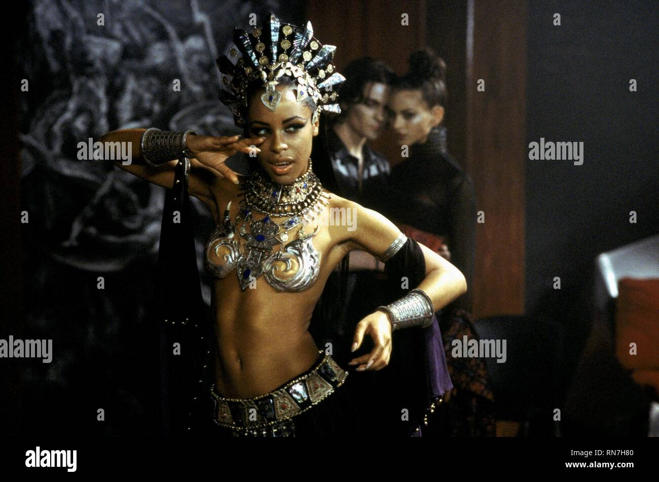 QUEEN OF THE DAMNED, AALIYAH, 2002 - Stock Image