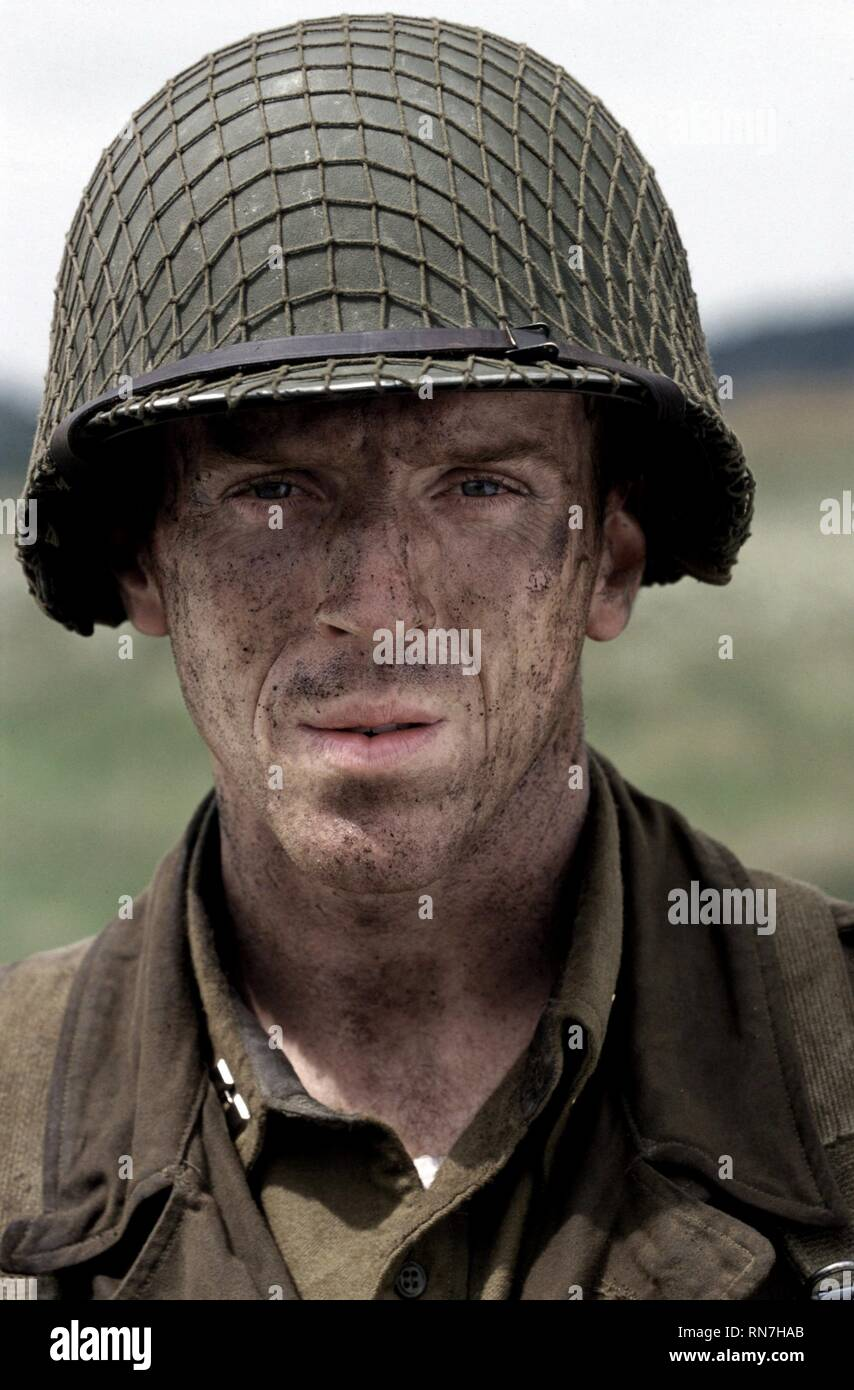 DAMIAN LEWIS, BAND OF BROTHERS, 2001 Stock Photo
