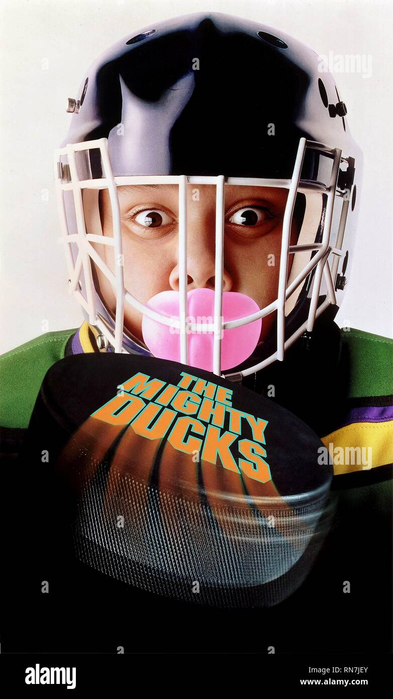 SHAUN WEISS POSTER, THE MIGHTY DUCKS, 1992 - Stock Image