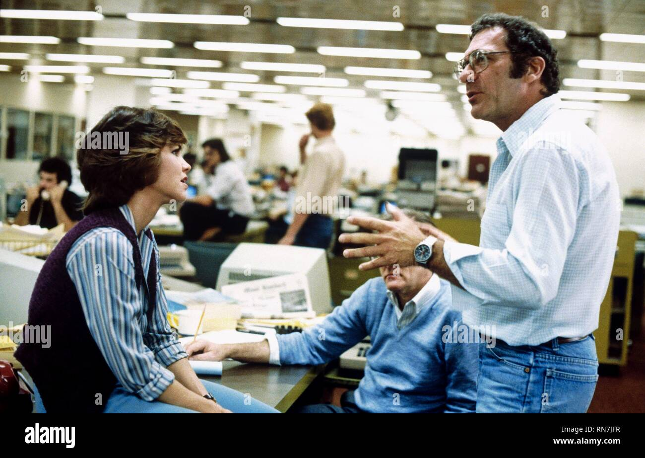 FIELD,POLLACK, ABSENCE OF MALICE, 1981 - Stock Image