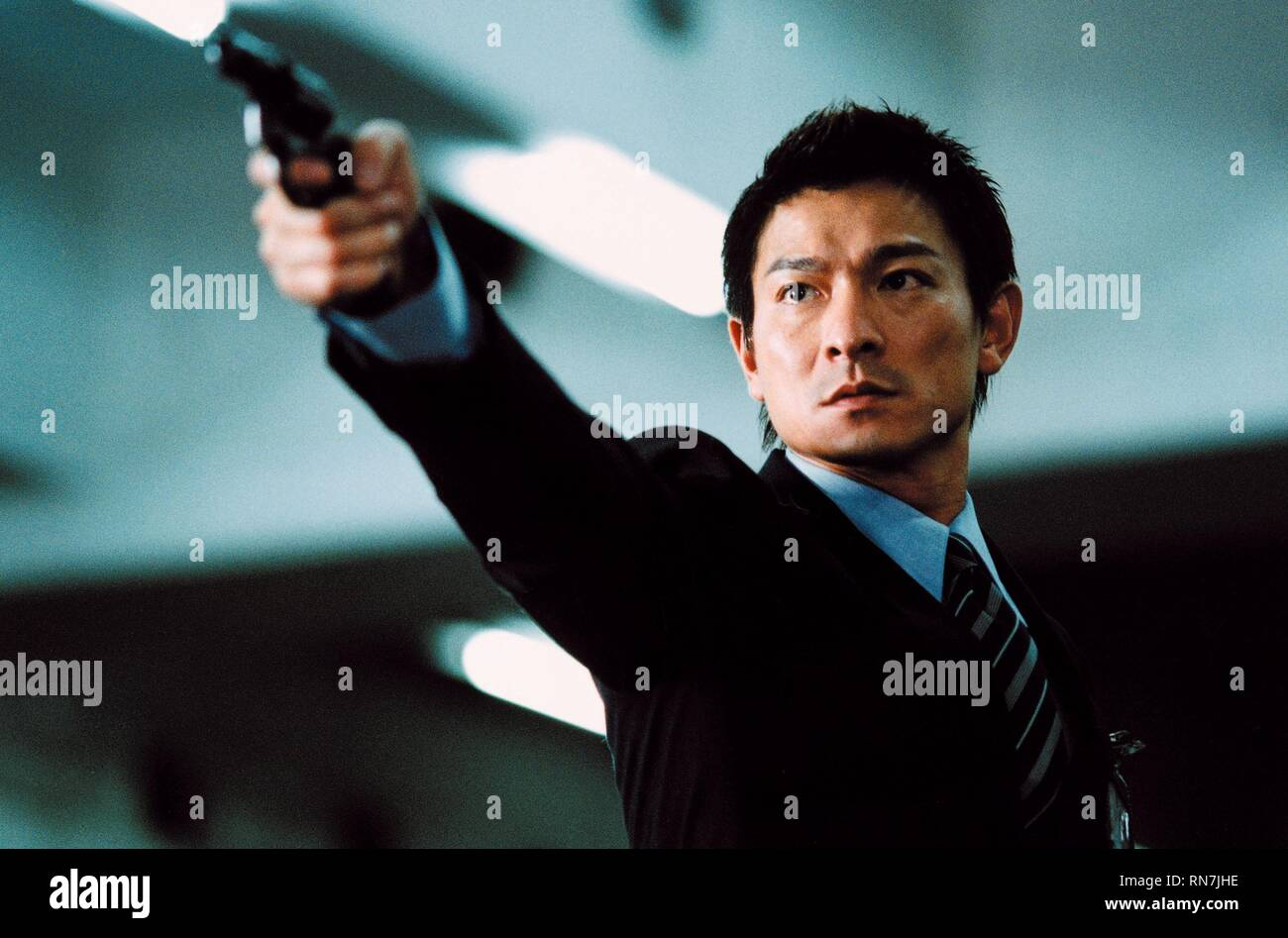 ANDY LAU, INFERNAL AFFAIRS, 2002 - Stock Image