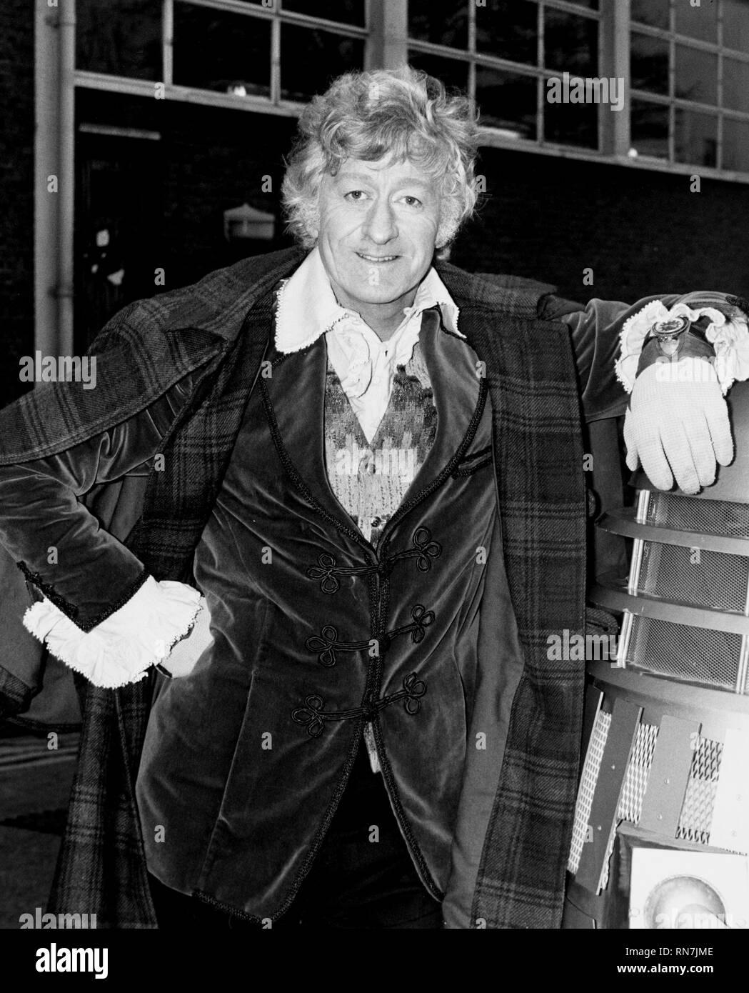 JOHN PERTWEE, DR WHO, 1970 - Stock Image