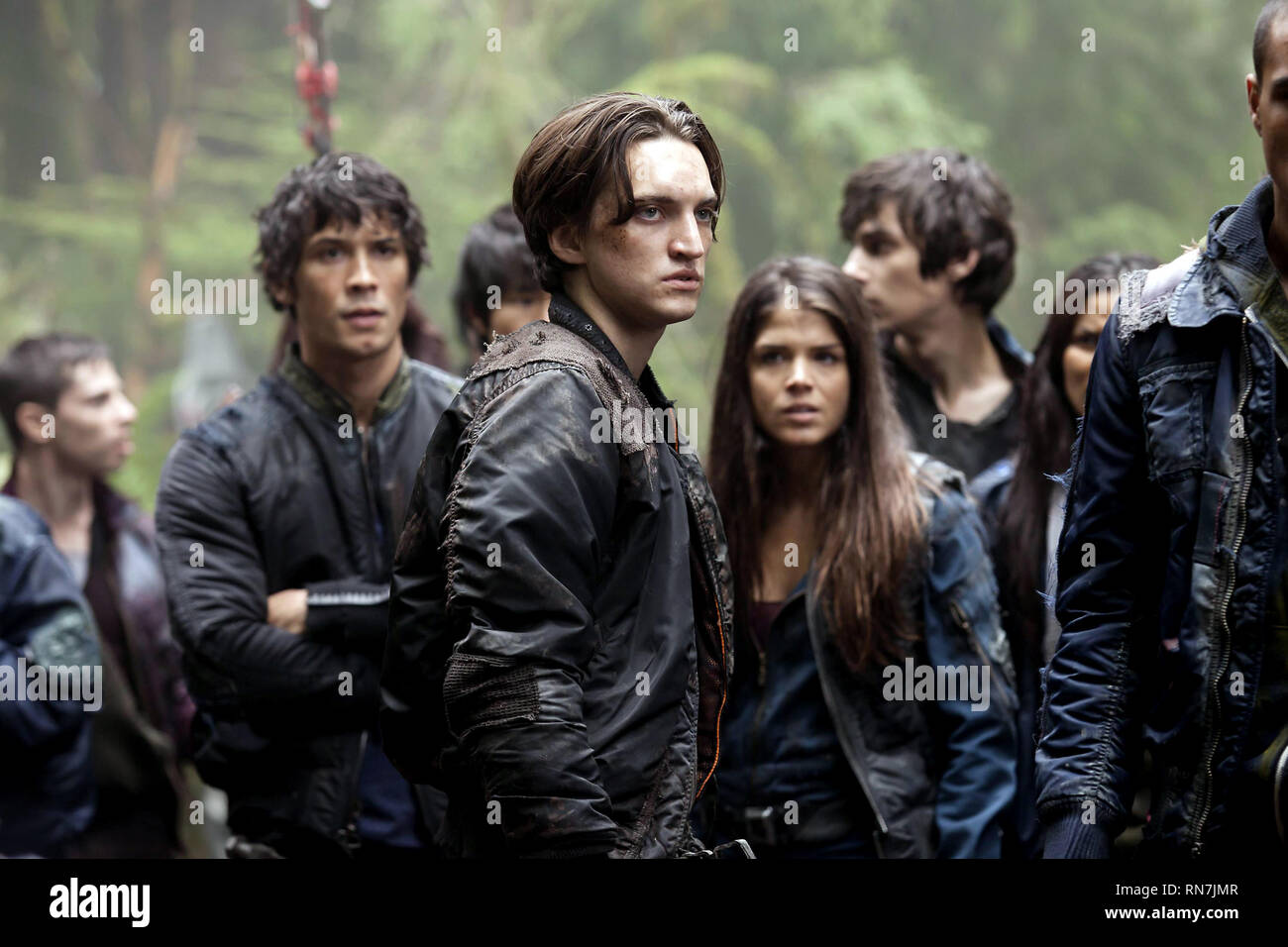 MORLEY,HARMON,AVGEROPOULOS, THE HUNDRED, 2014 - Stock Image