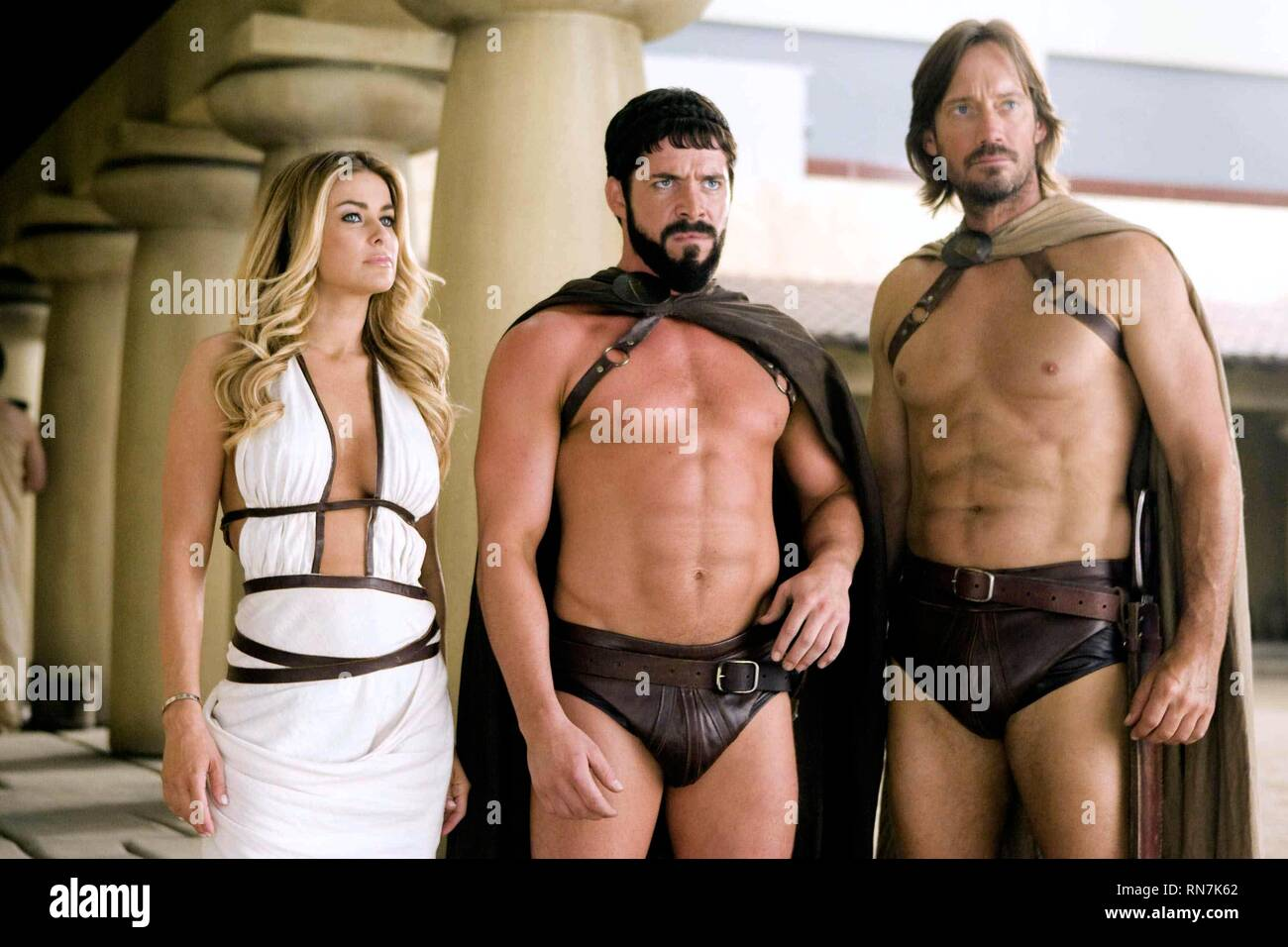 ELECTRA,MAGUIRE,SORBO, MEET THE SPARTANS, 2008 - Stock Image