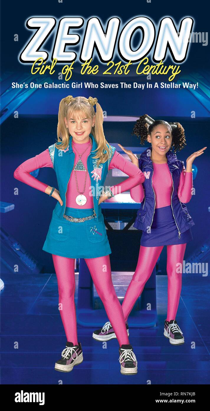 STORMS,POSTER, ZENON: GIRL OF THE 21ST CENTURY, 1999 - Stock Image