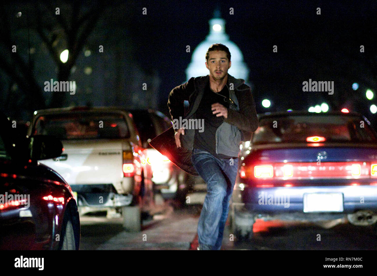 SHIA LABEOUF, EAGLE EYE, 2008 Stock Photo