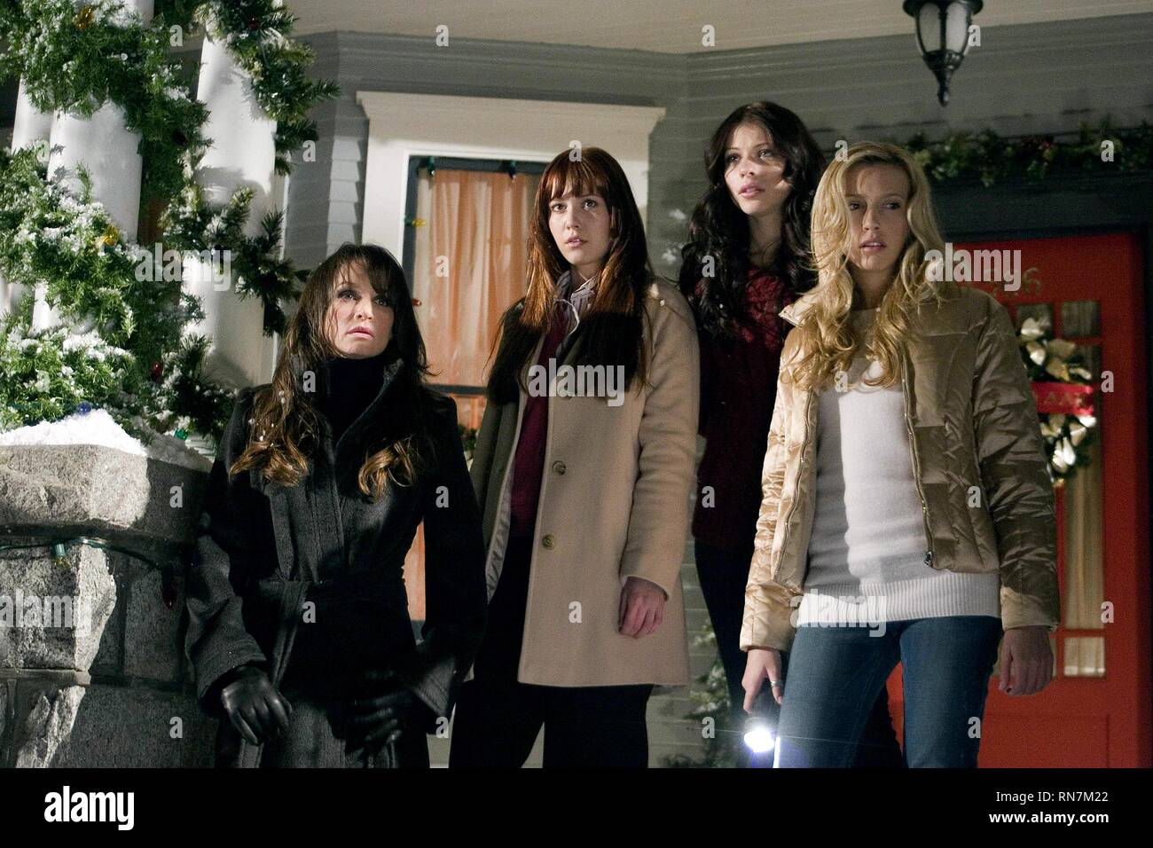 CLOKE,WINSTEAD,TRACHTENBERG,CASSIDY, BLACK CHRISTMAS, 2006 - Stock Image