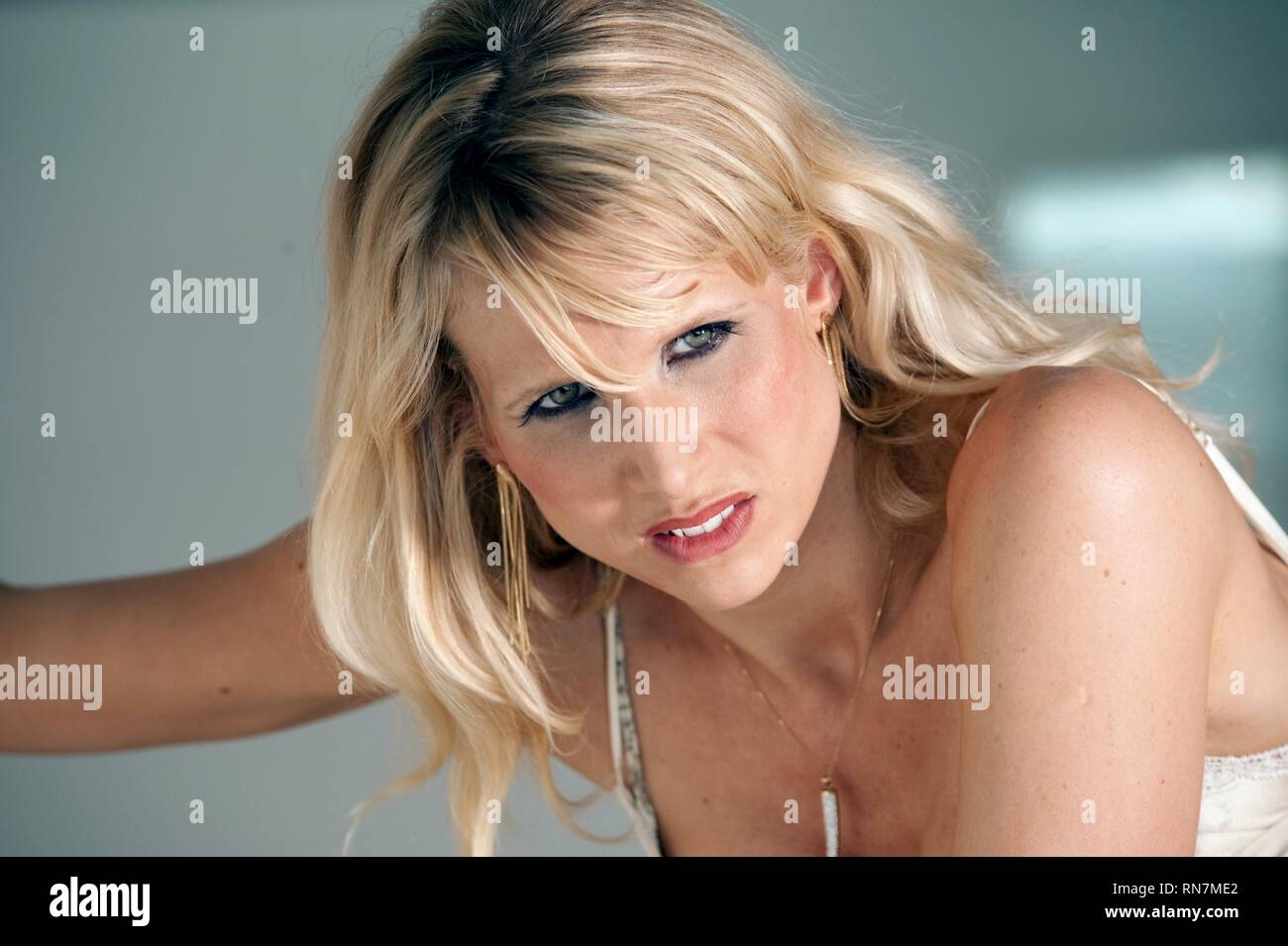 LUCY PUNCH, YOU WILL MEET A TALL DARK STRANGER, 2010 - Stock Image