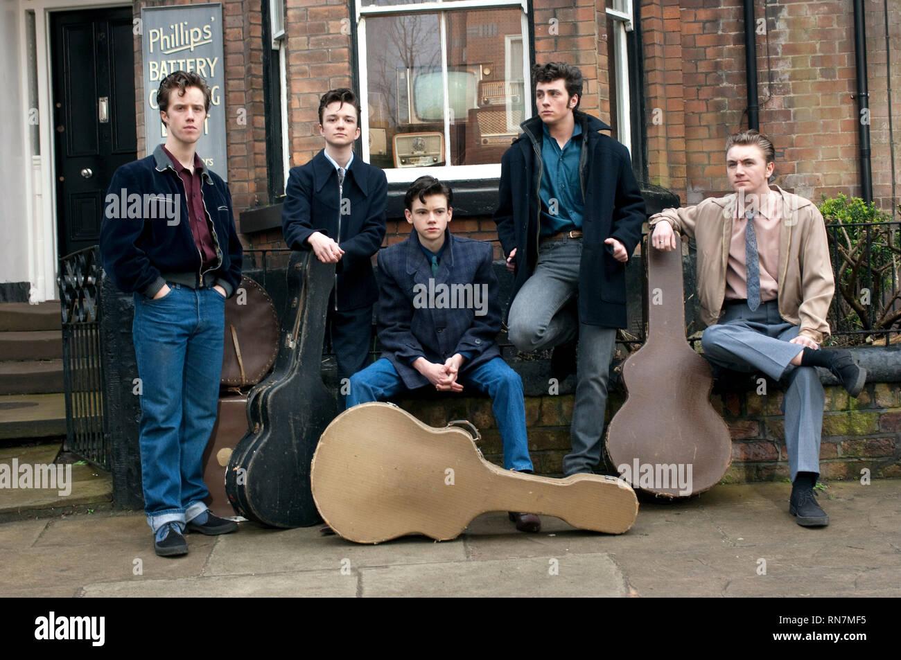 WILMOTT,BELL,SANGSTER,JOHNSON, NOWHERE BOY, 2009 - Stock Image