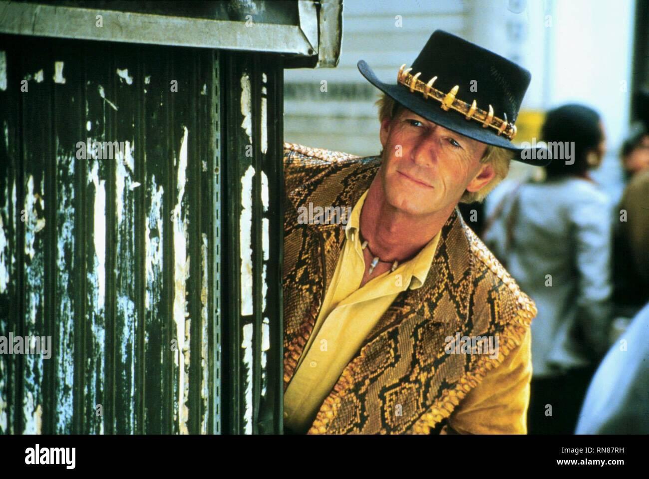 Paul Hogan Crocodile Dundee Ii 1988 Stock Photo Alamy