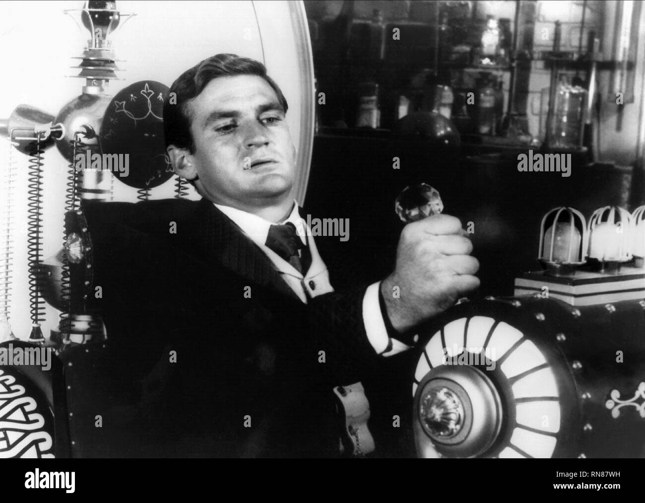 ROD TAYLOR, THE TIME MACHINE, 1960 - Stock Image