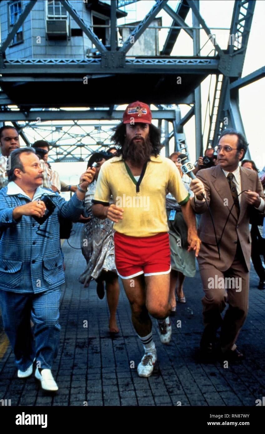 TOM HANKS RUNNING, FORREST GUMP, 1994 - Stock Image
