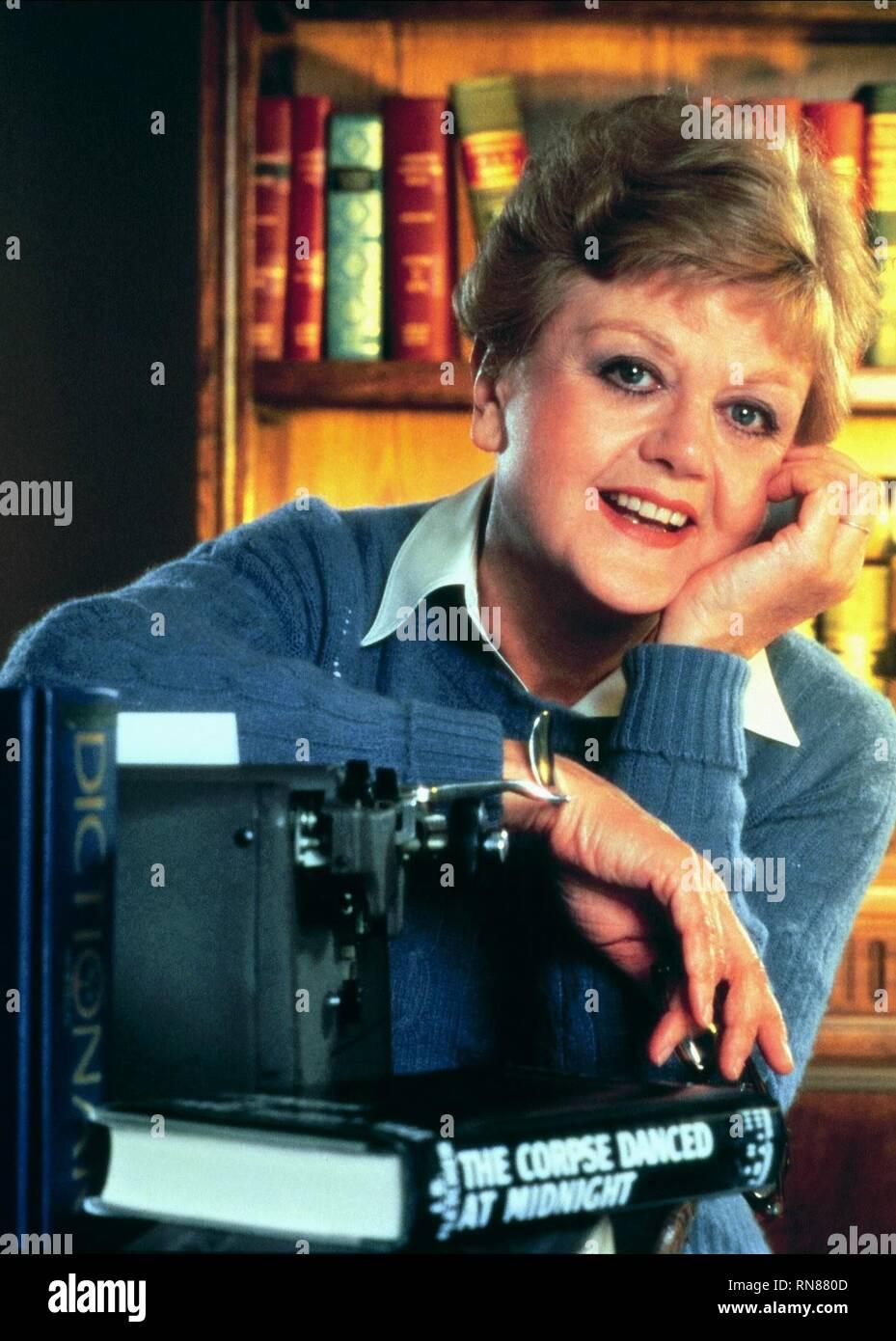 ANGELA LANSBURY, MURDER  SHE WROTE, 1984 - Stock Image