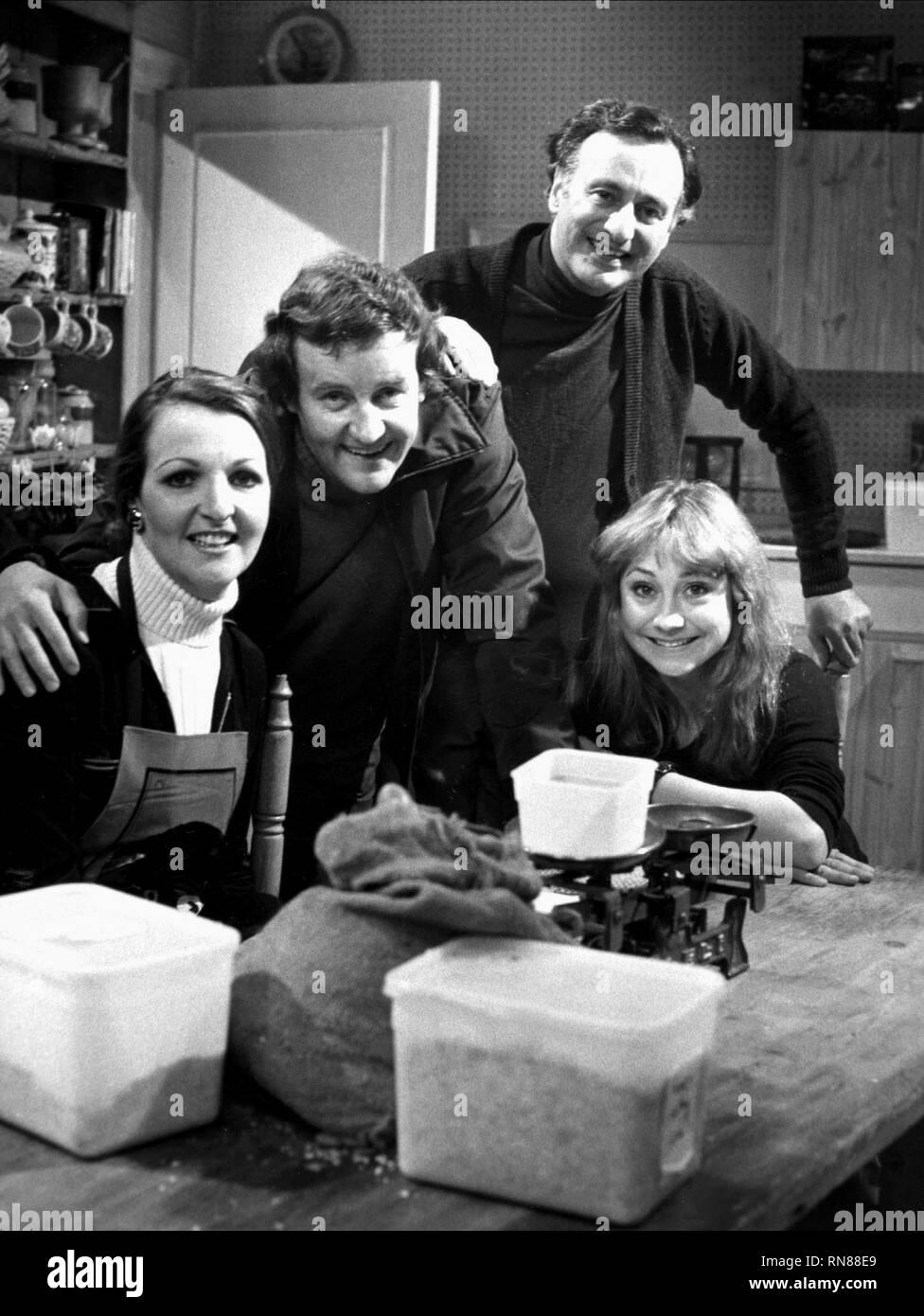 KEITH,BRIERS,KENDAL,EDDINGTON, THE GOOD LIFE, 1975 - Stock Image