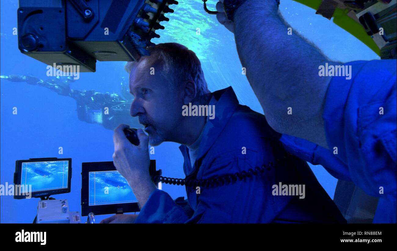 ALIENS OF THE DEEP, JAMES CAMERON, 2005 - Stock Image