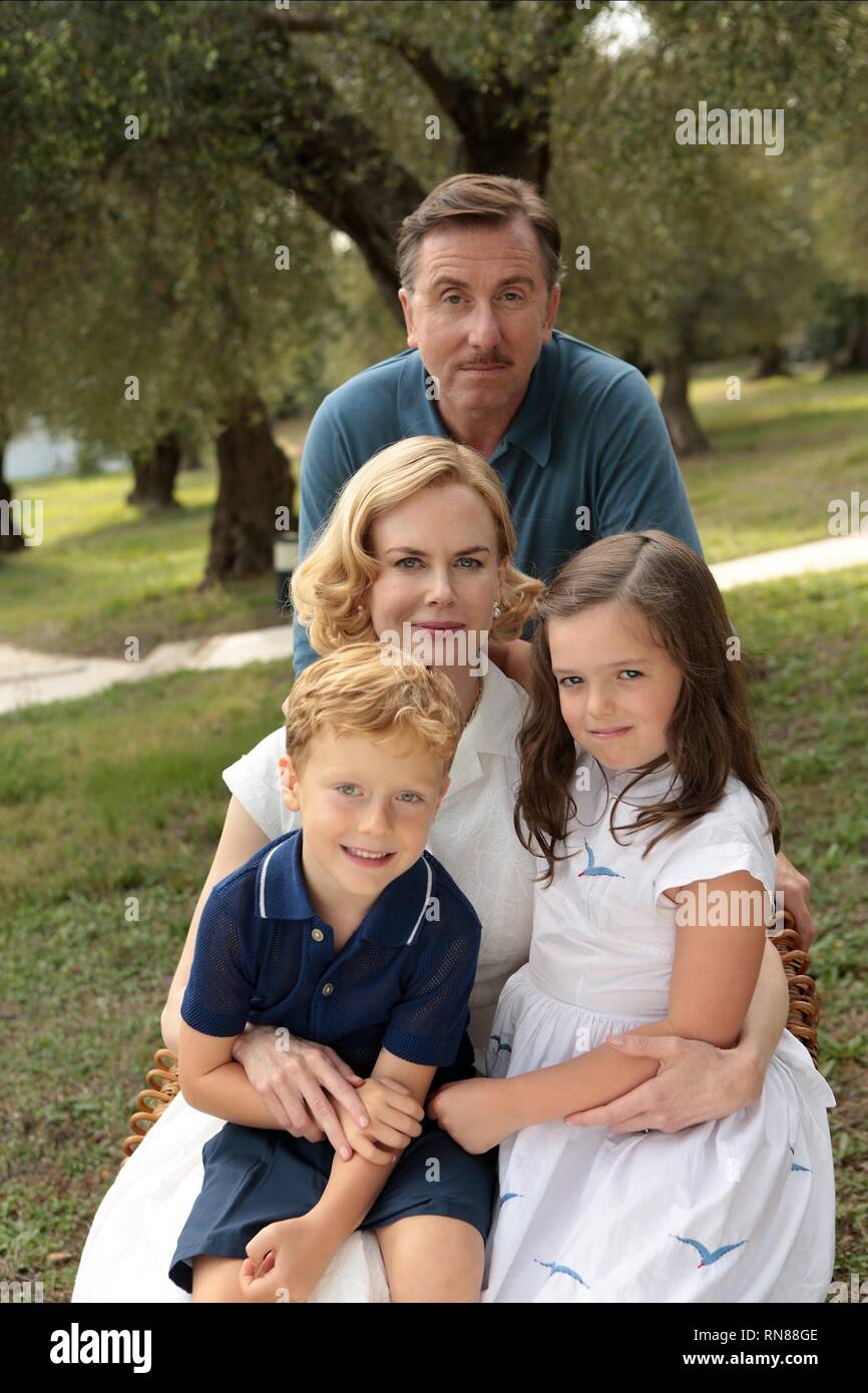ROTH,KIDMAN,CERETTE,COTTIS, GRACE OF MONACO, 2014 - Stock Image