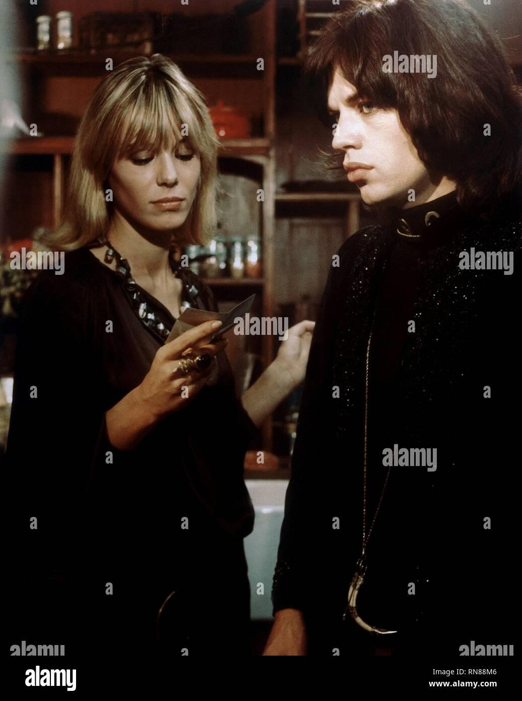 PALLENBERG,JAGGER, PERFORMANCE, 1970 - Stock Image