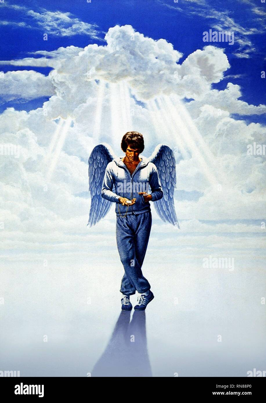 WARREN BEATTY, HEAVEN CAN WAIT, 1978 - Stock Image