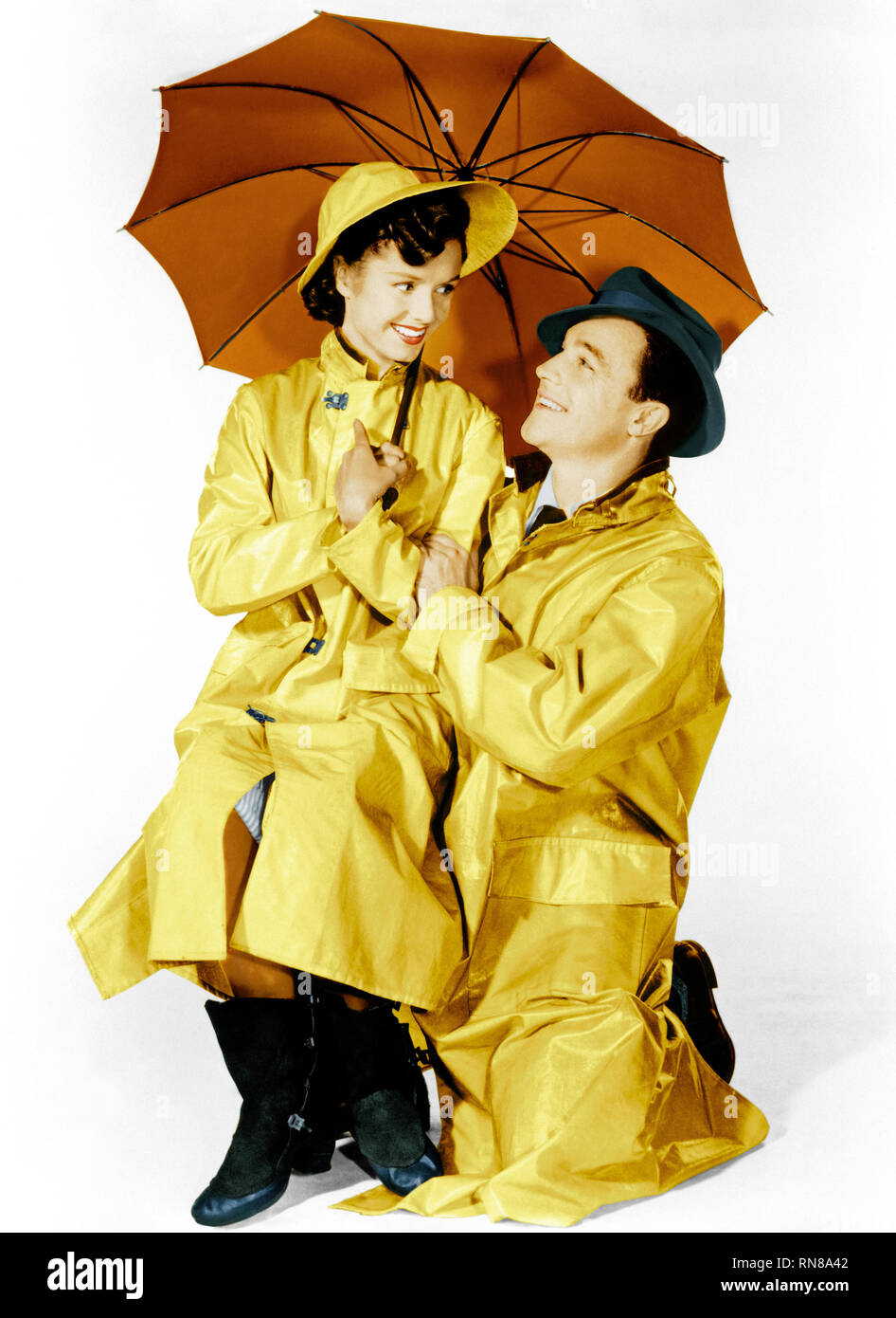 REYNOLDS,KELLY, SINGIN' IN THE RAIN, 1952 - Stock Image