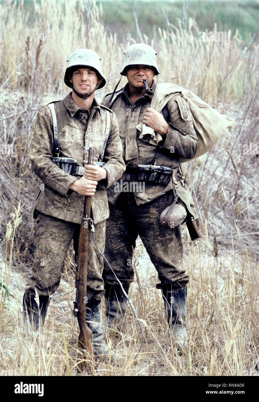 THOMAS,BORGNINE, ALL QUIET ON THE WESTERN FRONT, 1979 - Stock Image
