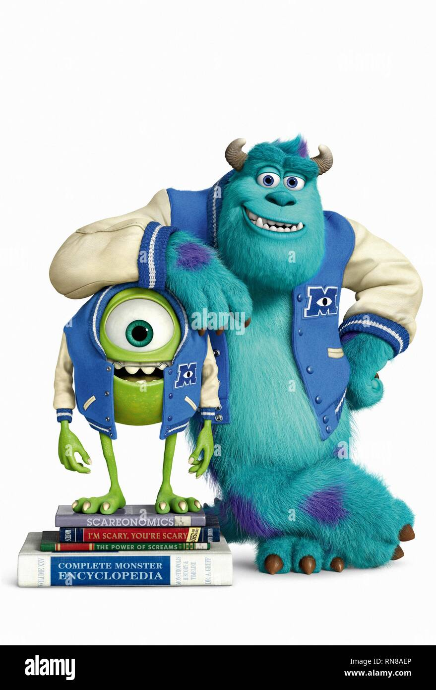 WAZOWSKI,SULLEY, MONSTERS UNIVERSITY, 2013 - Stock Image