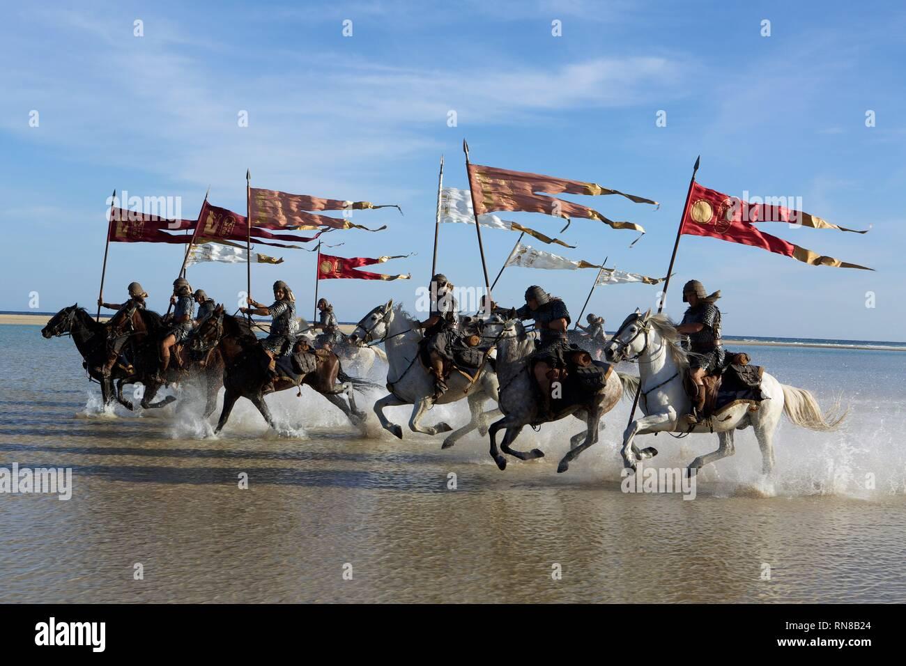 HORSEMEN, EXODUS: GODS AND KINGS, 2014 - Stock Image