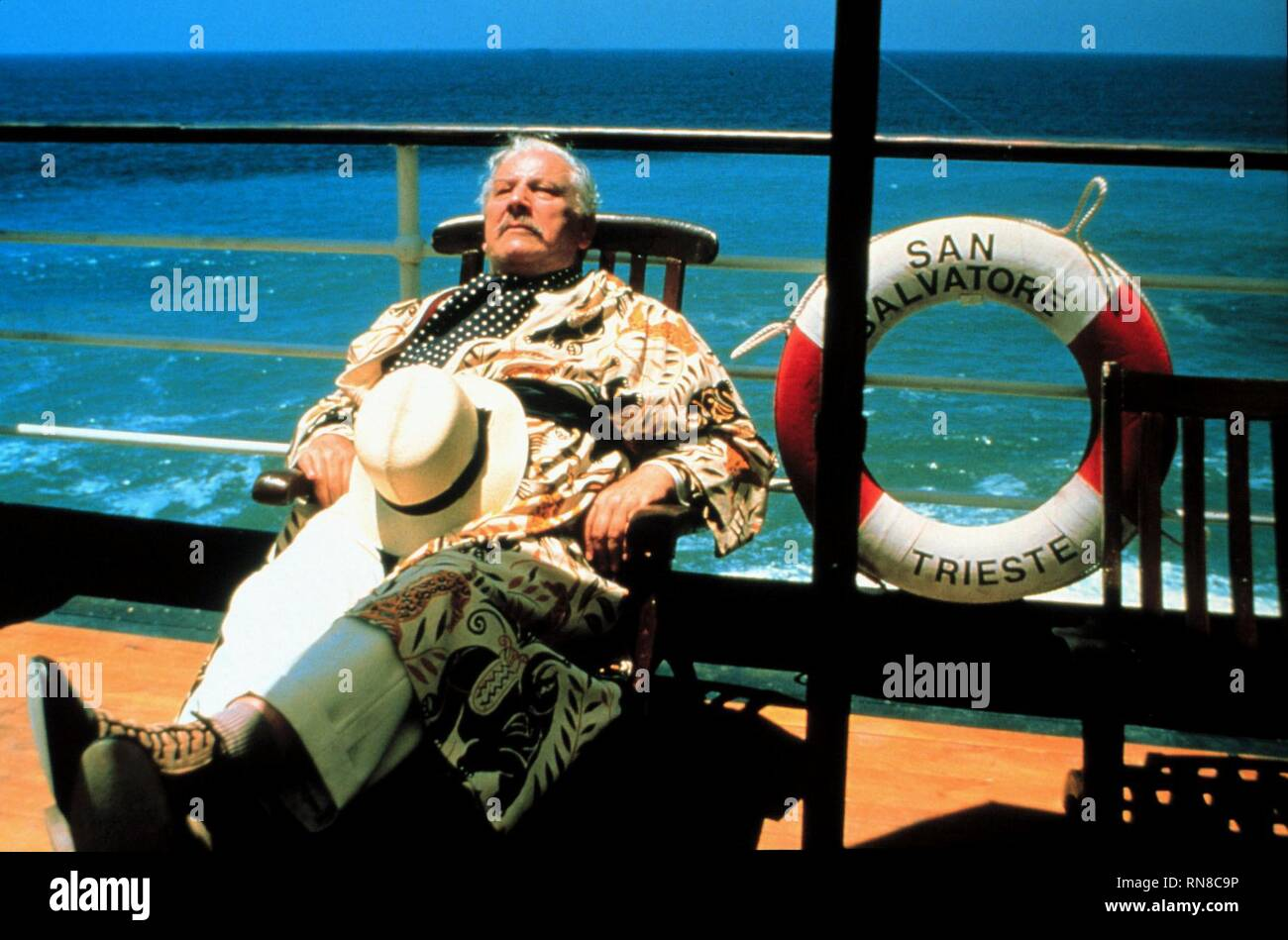APPOINTMENT WITH DEATH, PETER USTINOV, 1988 - Stock Image