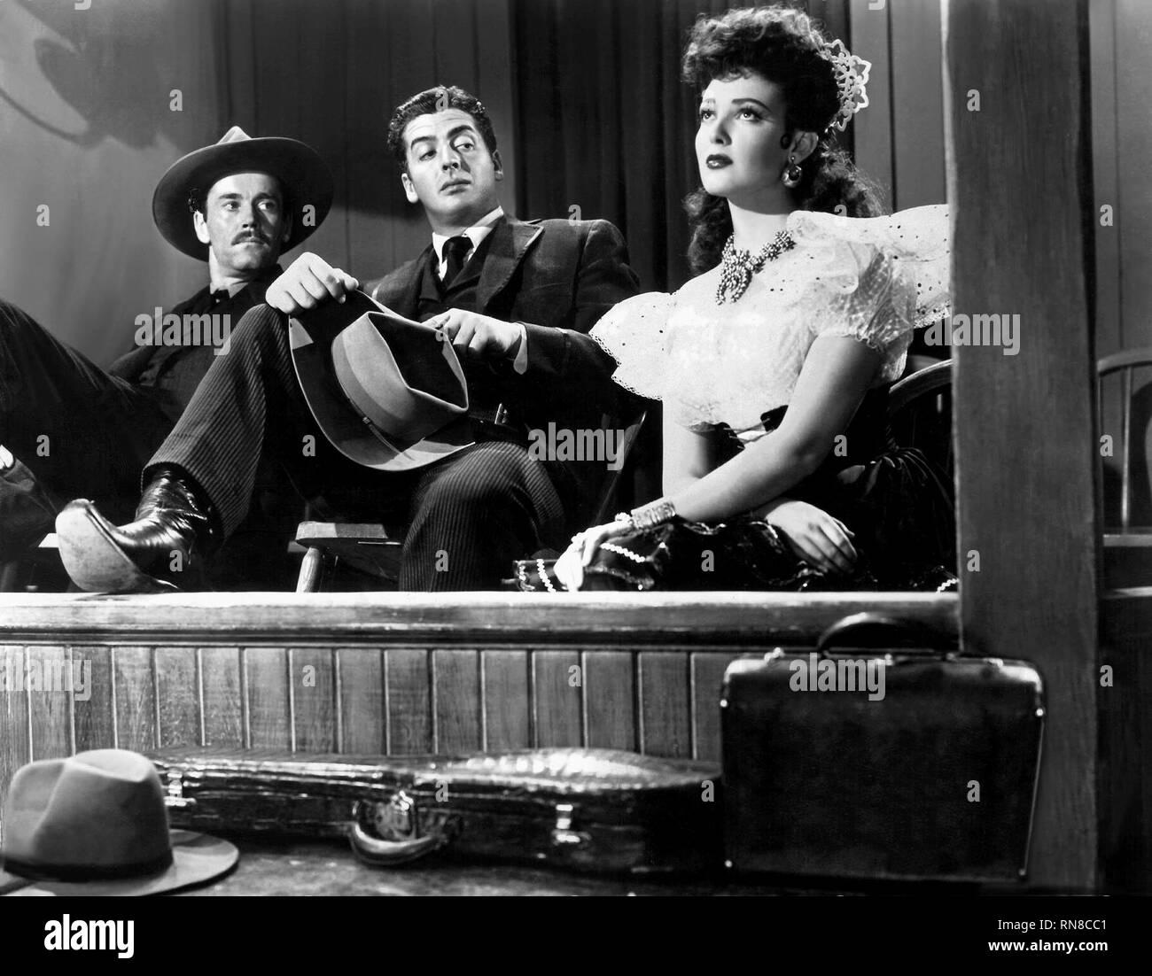 FONDA,MATURE,DARNELL, MY DARLING CLEMENTINE, 1946 - Stock Image