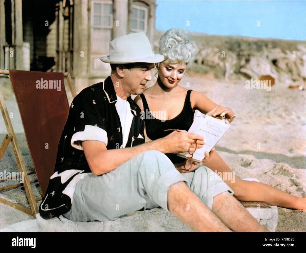 MR. HOBBS TAKES A VACATION, JAMES STEWART , VALERIE VARDA, 1962 - Stock Image