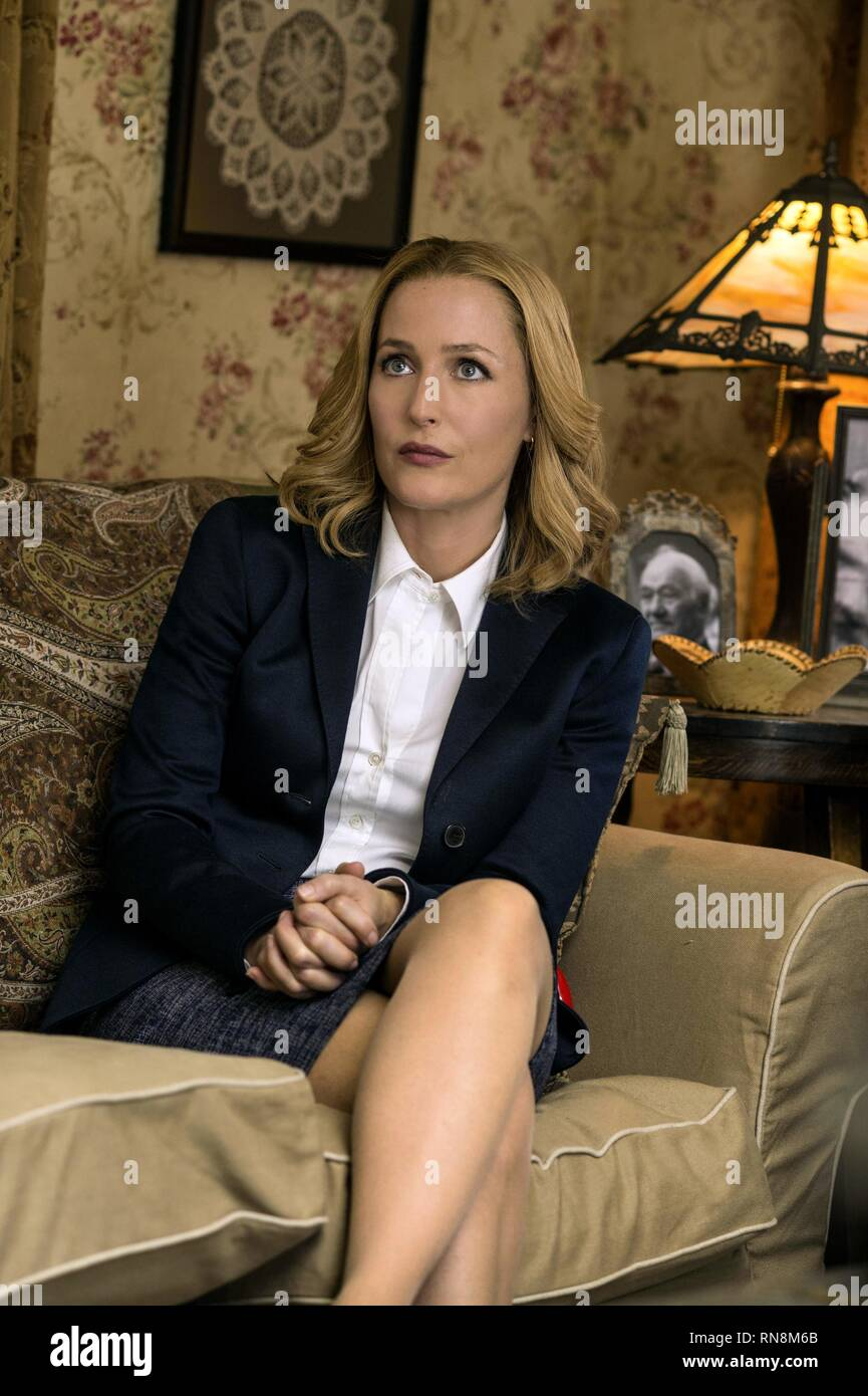 GILLIAN ANDERSON, THE X-FILES, 2016 - Stock Image