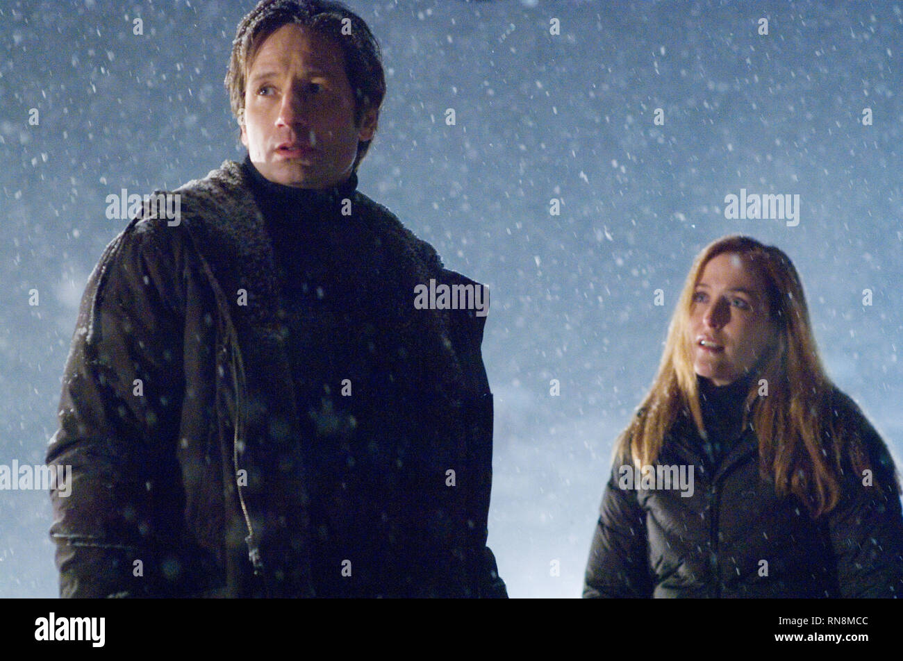 DUCHOVNY,ANDERSON, THE X FILES: I WANT TO BELIEVE, 2008 - Stock Image