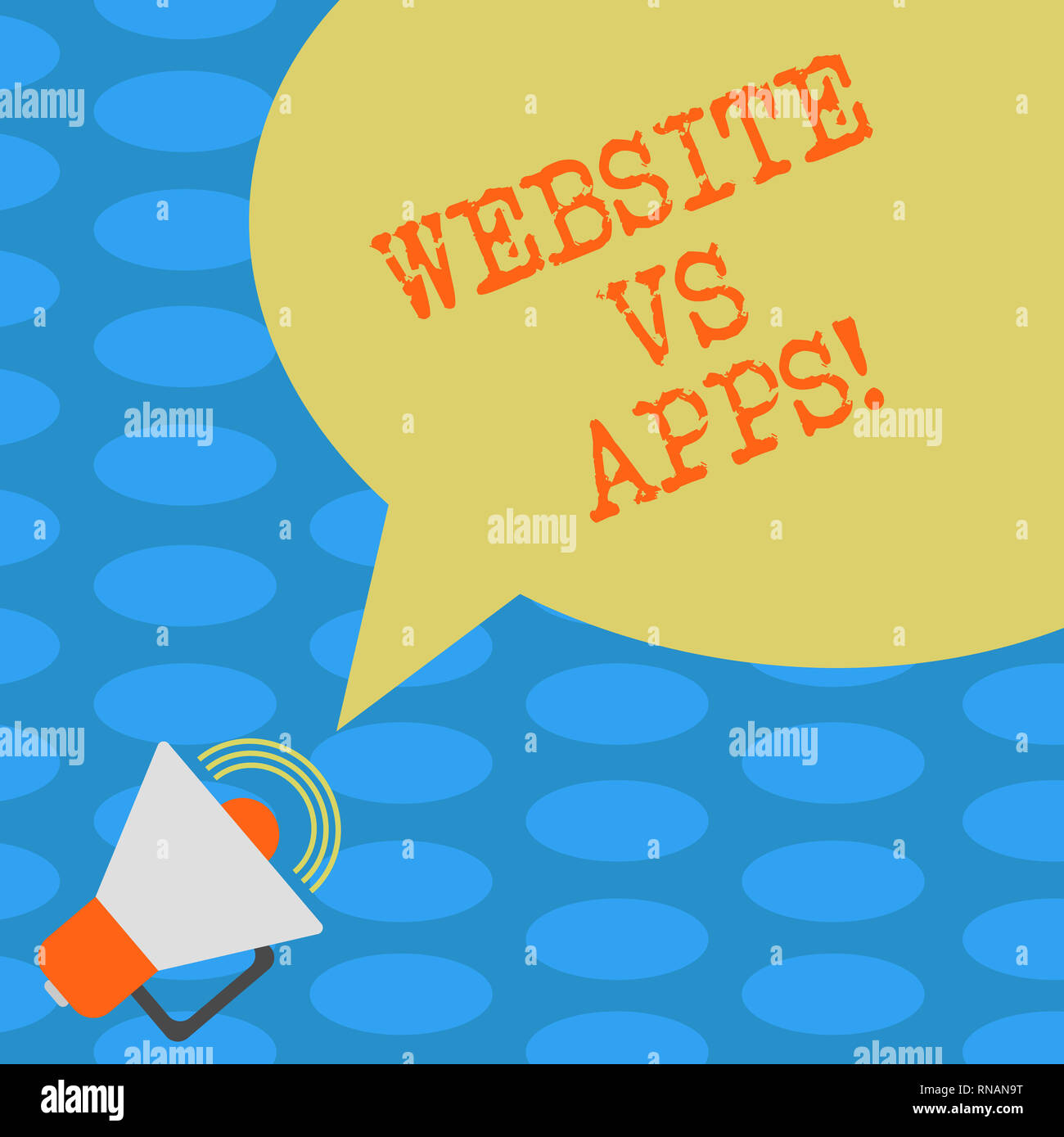 Word Writing Text Website Vs Apps Business Concept For Doubt