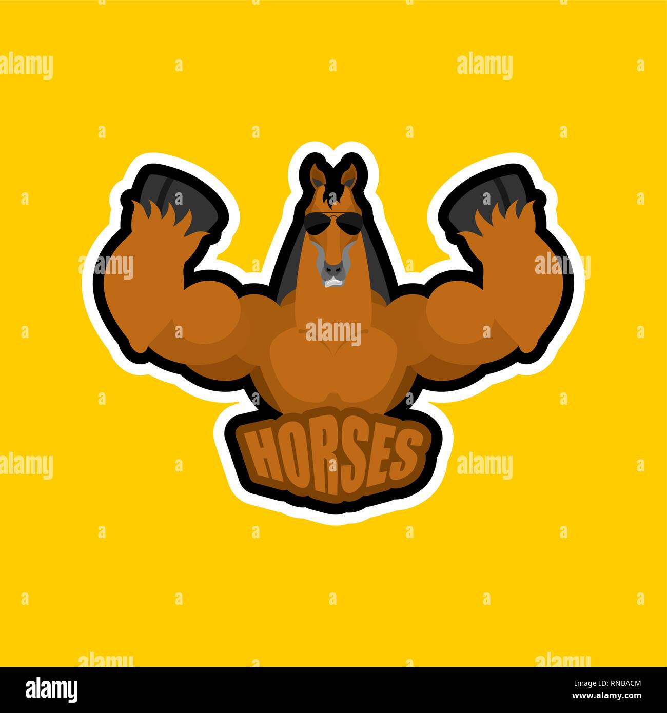 Horses Sport Logo Steed Sports Team Club Emblem Animal Mascot Gaming Sign Strong Horse Beast Symbol Stock Vector Image Art Alamy