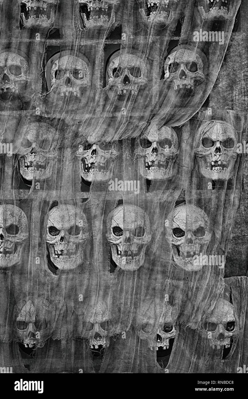 Skull Wallpaper Pattern Stock Photo 236894568 Alamy