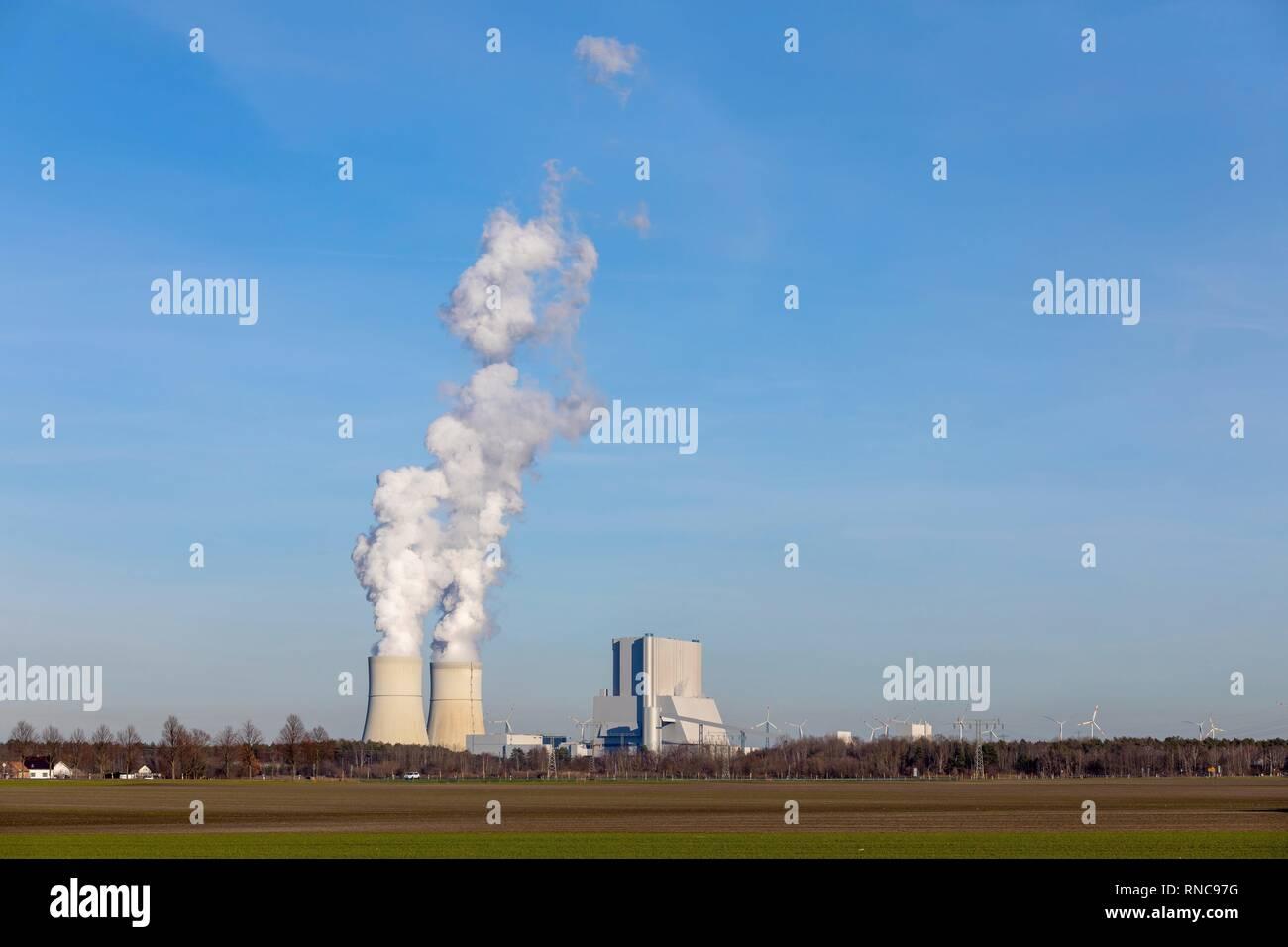 Lignite fired power station Schwarze Pumpe (Spremberg