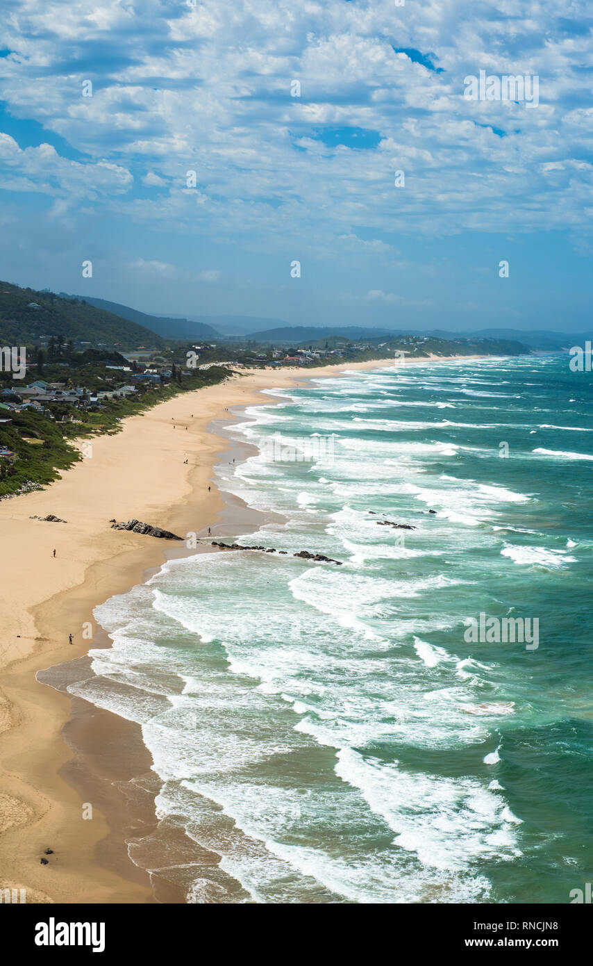 Wilderness Beach at the Garden Route, South Africa Stock Photo