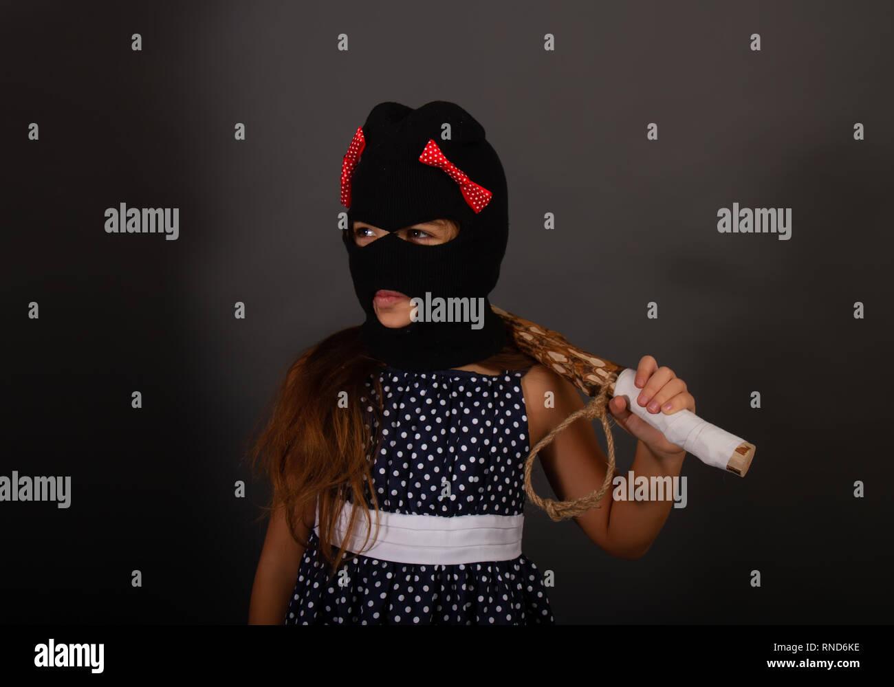 adf605afdedd7 One teenage girl hooligans in bright smart dress