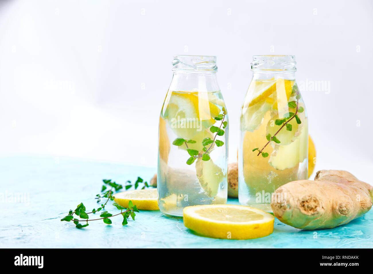 Trendy Detox Healthy Drink Detox Water In Bottles With