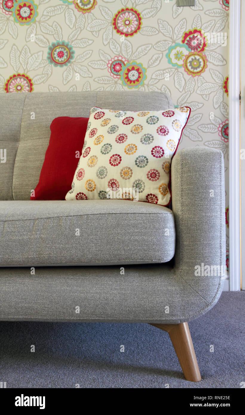Grey Sofa Stock Photos & Grey Sofa Stock Images - Alamy