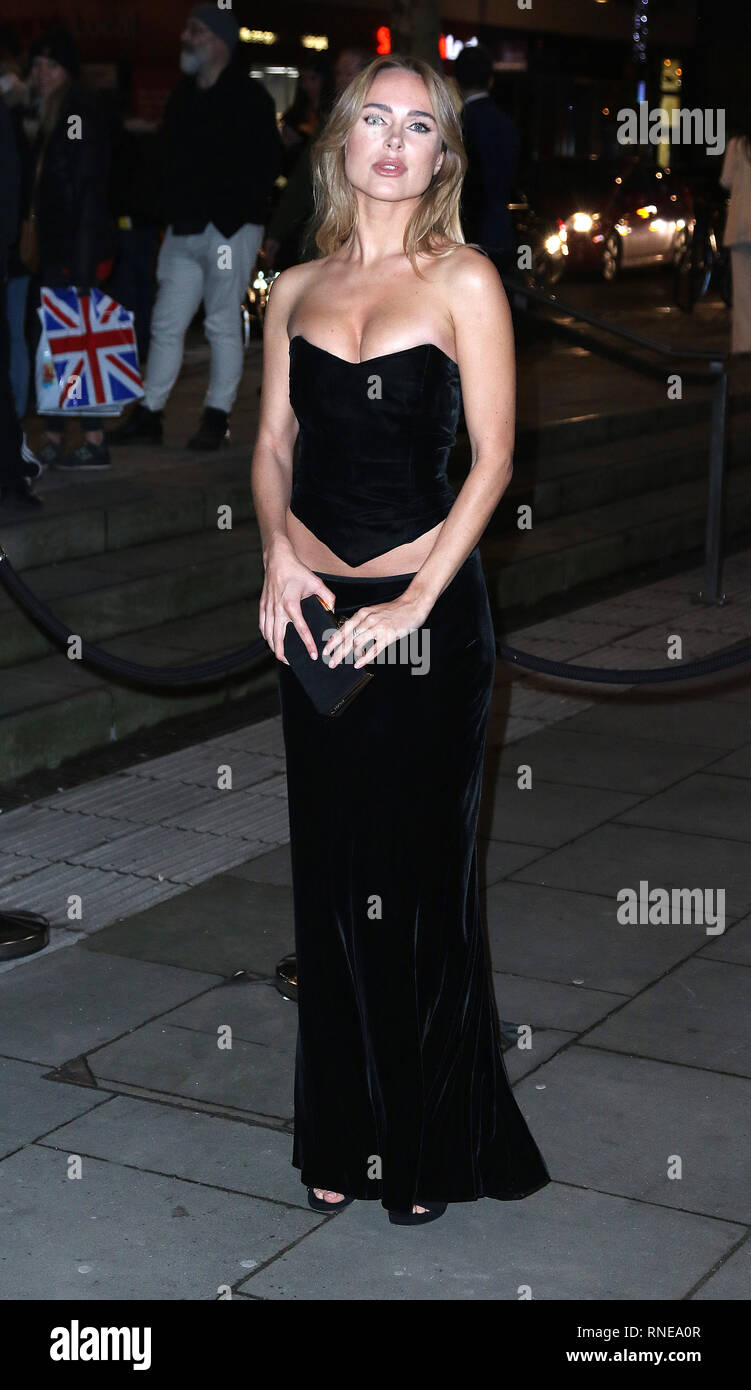 London, UK. 18th Feb 2019. Kimberley Garner, Fabulous Fund Fair, Roundhouse, London, UK. 18th Feb, 2019. Photo by Richard Goldschmidt Credit: Rich Gold/Alamy Live News - Stock Image