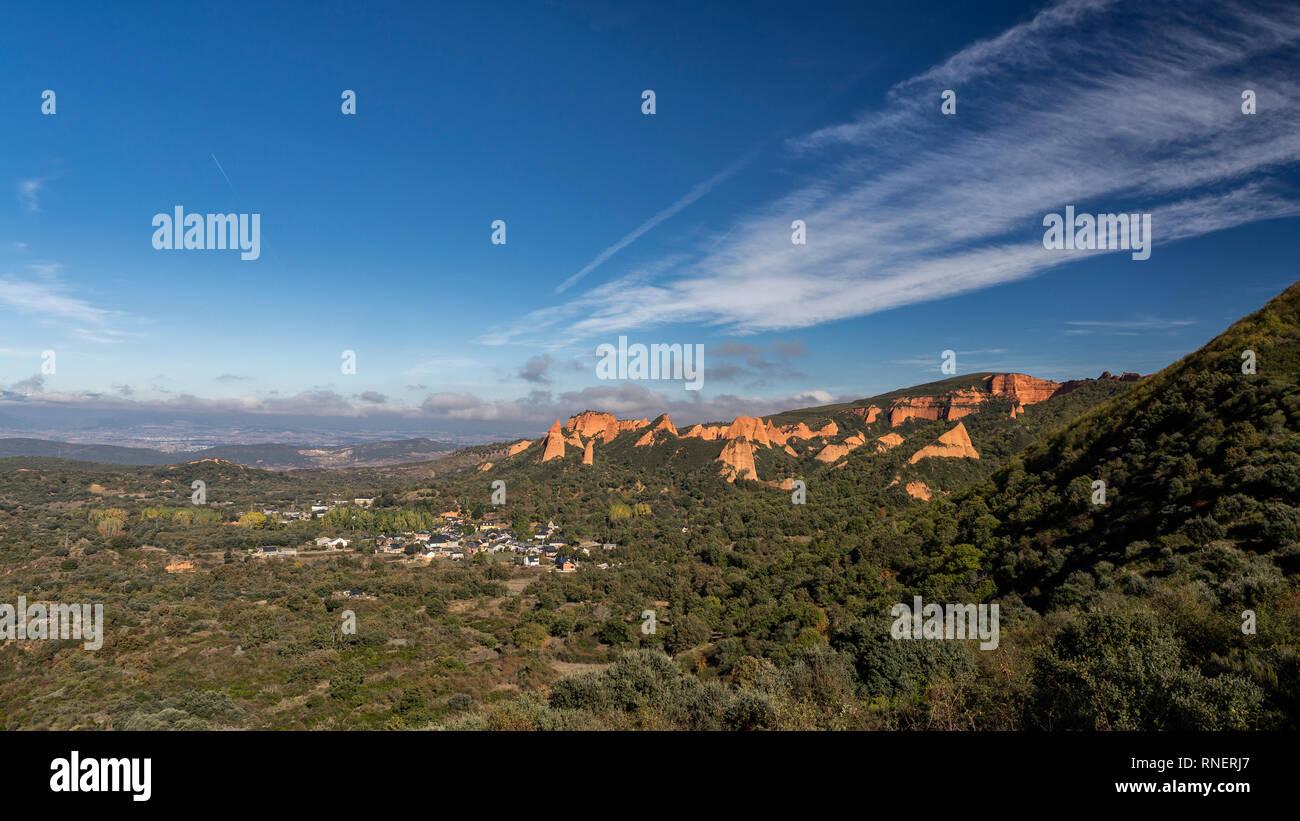 Las Médulas, El Bierzo Spain - Stock Image
