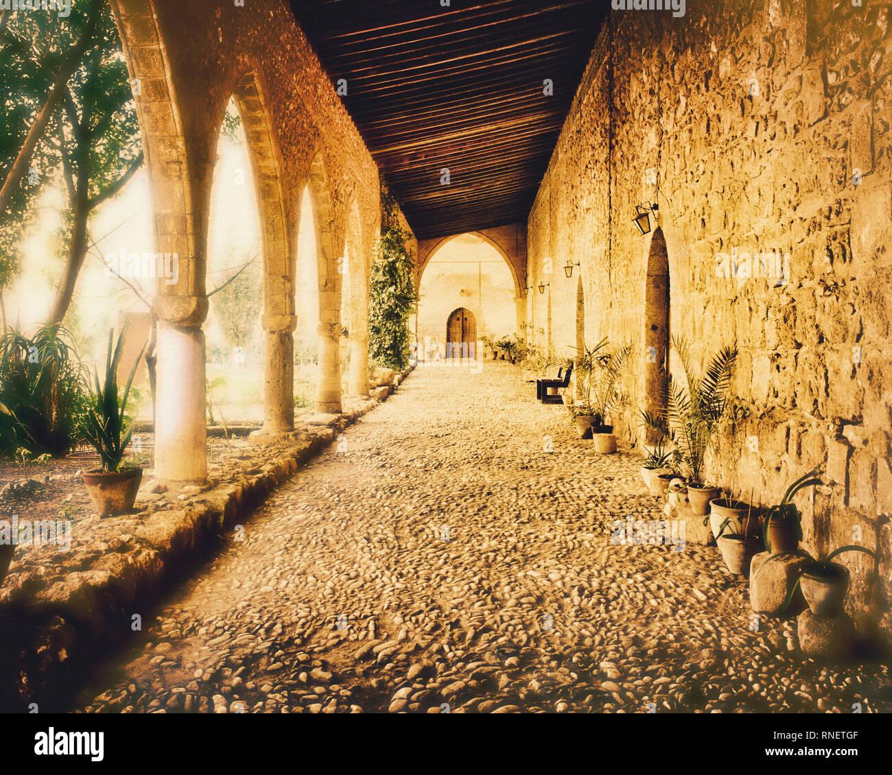 CYPRUS: Monastery of Ayia Napa - Stock Image